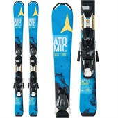 Atomic Vantage Jr II Skis + EZY 5 Bindings - Big Kids' 2016