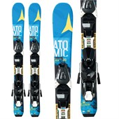 Atomic Vantage Jr I SKis + EZY 5 Bindings - Big Kids' 2016