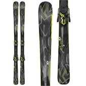 K2 AMP 80X Skis + M3 12 Bindings 2015