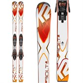K2 Bolt Jr Skis + Fastrak2 7 Bindings - Big Boys' 2016