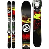 K2 Shreditor 85 Jr Skis + Fastrak2 7 Bindings - Boy's 2015