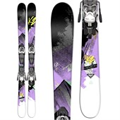 K2 Remedy 75 Jr Skis + Fastrak2 7 Bindings - Girl's 2015