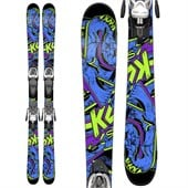 K2 Juvy Skis + Fastrak2 7 Bindings - Boy's 2015