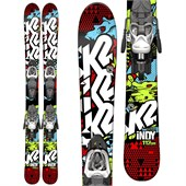 K2 Indy Skis + Fastrak2 7 Bindings - Boy's 2015
