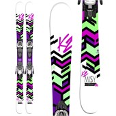K2 Missy Skis + Fastrak2 4.5 Bindings - Girl's 2015