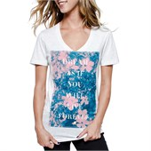 Glamour Kills Wishful Thinking V Neck T-Shirt - Women's