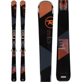 Rossignol Experience 80 (Dark) Skis + Xelium 110 Bindings 2015