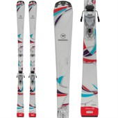 Rossignol Unique Skis + Saphir 100 Bindings - Women's 2015