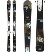 Rossignol Temptation 77 Skis + Saphir 110 Bindings - Women's 2015