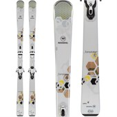 Rossignol Temptation 75 Skis + Saphir 100 Bindings - Women's 2015