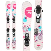 Rossignol Trixie Pro Skis + Comp J 45 Bindings - Girl's 2015