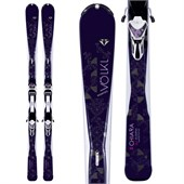 Volkl Chiara Skis + Essenza 4 Motion 11.0 Bindings - Women's 2016