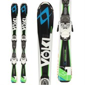 Volkl RTM Jr Skis + 3Motion Jr 4.5 Bindings - Boy's 2015