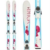 Volkl Chica Skis + 3Motion Jr 7.0 Bindings - Girl's 2015