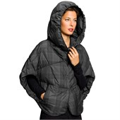 nau Down Stole Plaid Jacket - Women's