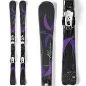 Nordica Elexa Evo Skis + N Adv P.R. Evo Bindings - Women's 2015