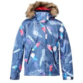 Roxy American Pie Print Jacket - Girl's