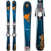 Blizzard Cochise Jr Skis + IQ 4.5 Bindings - Boy's 2015