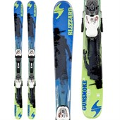 Blizzard Gunsmoke Jr Skis + IQ 7 Bindings - Boy's 2015