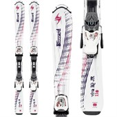 Blizzard Viva Jr Skis + IQ 4.5 Bindings - Girl's 2015