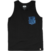 Altamont Peacock Pocket Tank Top
