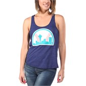 Casual Industrees Sea Baseball Tank Top - Women's