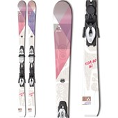 Fischer Koa 80 Skis + V10 MyStyle Bindings - Women's 2015