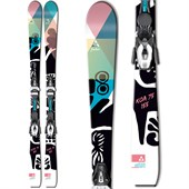Fischer Koa 75 Skis + V9 MyStyle Bindings - Women's 2015