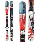 Fischer Stunner Skis + FJ4 AC Jr Rail Bindings - Boy's 2015