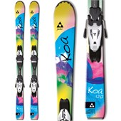 Fischer Koa Jr. Skis + FJ4 AC Jr Rail Bindings - Big Girls' 2015