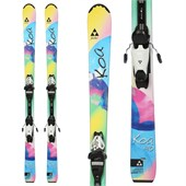 Fischer Koa Skis + FJ7 AC Jr Rail Bindings - Boy's 2015