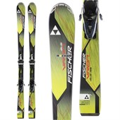 Fischer Viron 2.2 Skis + RS10 Powerrail Bindings 2015