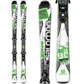 Salomon X-Drive 80 Ti Skis + Z12 Bindings 2015