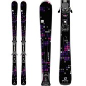 Salomon Lava Skis + L10 Bindings - Women's 2015