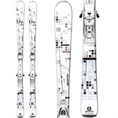 Salomon Pure White Skis + L10 Bindings - Women's 2015