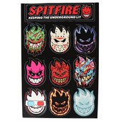 Spitfire 50 Ways Sticker Sheet