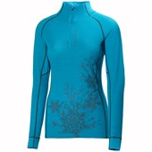 Helly Hansen Warm High Neck 1/2 Zip Top - Women's