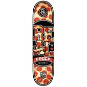 Real Brock Hot N Ready Low Pro 2 Skateboard Deck