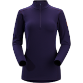Arc'teryx Phase SV Zip Neck Top - Women's