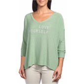 good hYOUman The Romi Love Yourself T-Shirt - Women's