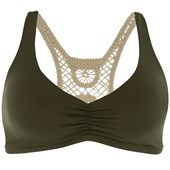 L*Space Wild Child Solid Bikini Top - Women's