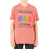 Volcom All Seeing T-Shirt (Ages 8-14) - Boy's