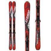 Atomic Crimson Ti Skis + XTO 12 Demo Bindings - Used 2013