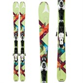 Atomic Affinity Storm Skis + XTO 10 Demo Bindings - Women's 2013