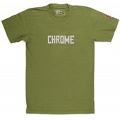 Chrome Text T-Shirt
