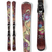 Nordica Cinnamon Girl Skis + EXP 11 Demo Bindings - Used - Women's 2013