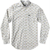 RVCA Fever Flower Long-Sleeve Button-Down Shirt