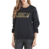 Obey Clothing Gothic Lace Throwback Fleece - Women's