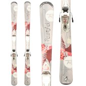 Rossignol Temptation 76 Skis + Rossignol Xelium 110 Demo Bindings - Used - Women's 2013