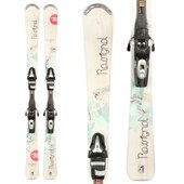 Rossignol Temptation 82 Skis + Tyrolia SP 100 Demo Bindings - Used - Women's 2012